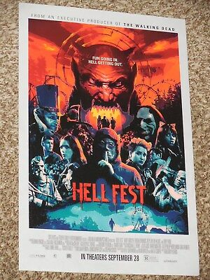 Hell Fest 11x17 Promo Movie POSTER