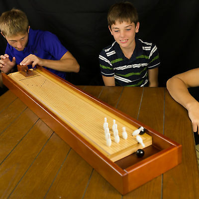 Giant Tabletop Wooden Bowling Game