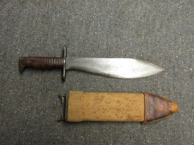 Wwi Us Model 1917 Bolo Knife W/ Sheath-Original