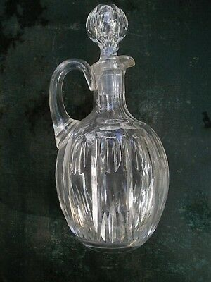 Ancienne Carafe Cristal Taillee
