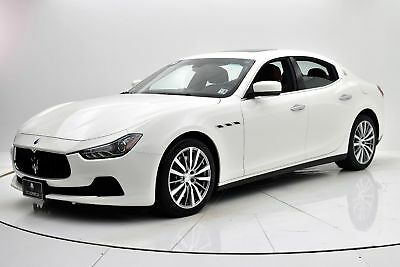 2015 Ghibli S Q4 2015 Maserati Ghibli SQ4, One Owner, Only 11,004 Miles, Pre-Certified