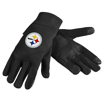 Pittsburgh Steelers NFL Neoprene High End Technology Touch Texting Gloves FREE