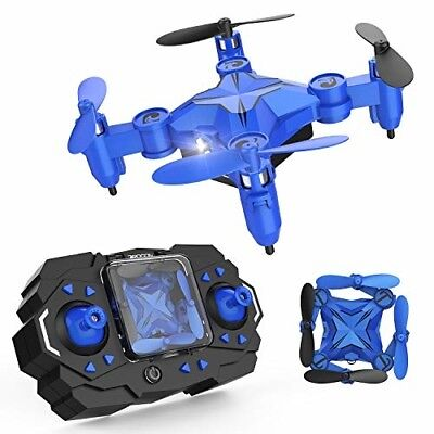 DROCON Mini RC Drone for Kids, Portable Pocket Quadcopter with Altitude Hold Mod