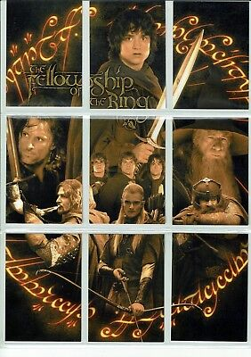 Lord Of The Rings Fellowship Of The Ring Promo Set