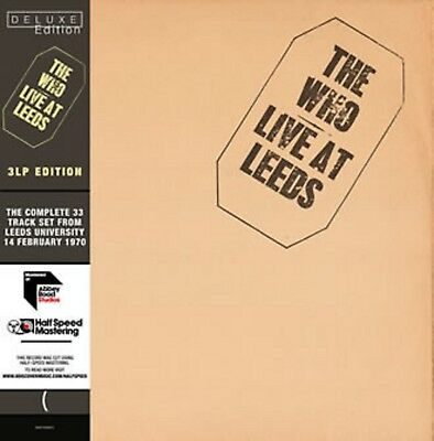 The Who - Live at Leeds - New Deluxe Triple Half Speed Mastered LP