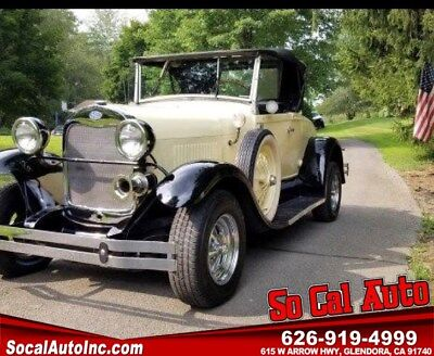 1980 Other Makes  1931 FORD MODAL A  ROADSTER      REPLICA  SHAY PERDUCTION