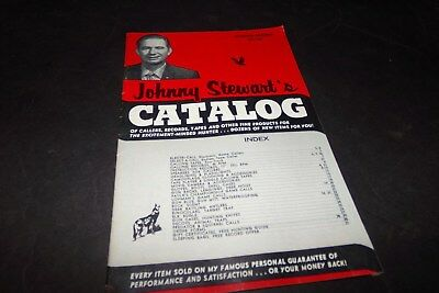Vintage Johnny Stewarts Catalog Game Calls Records Electric Call Decoys Clothing