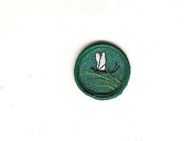 Girl Scout Patch Insect Finder Proficiency Badge 1955-61