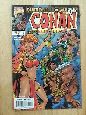 CONAN THE BARBARIAN: DEATH COVERED IN GOLD #1 Near Mint