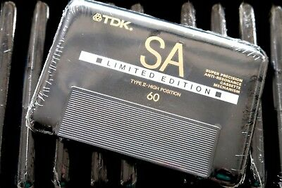 Tdk Sa 60 Limited Edition High Bias Type Ii Blank Audio Cassette - Japan