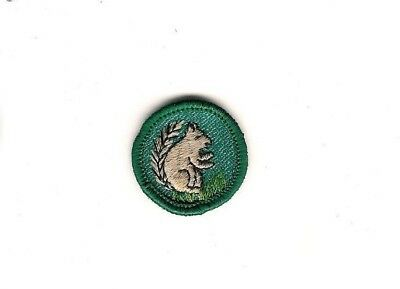 Girl Scout Patch Land Animal Finder Proficiency Badge 1955-61