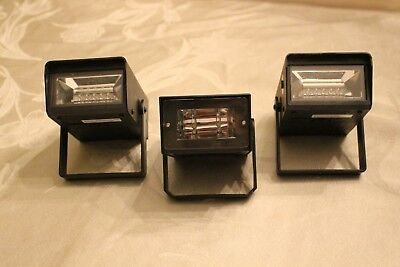 Halloween Strobe Lights ( Battery operated) 3 Total - 2 with Sound Effects