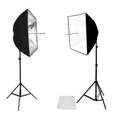 Photo Studio Softbox Reflector & Light Bulb Holder with Universal Hot Shoe Mount