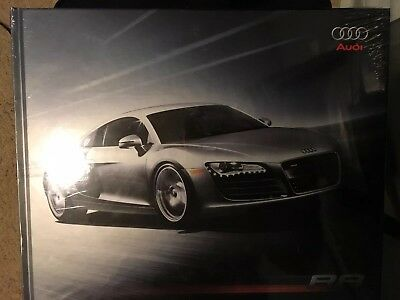New Sealed 2007 2008 Audi R8 Book Hardcover Dealer Coffee Table Brochure