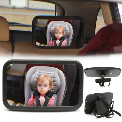 Adjustable Baby Car Seat Rear View Mirror Back Infant Child Toddler Ward Safety