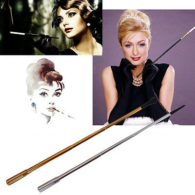 Chic Real Cigarette Smoke Holder Audrey Hepburn 1920s Flapper Costume Accessory