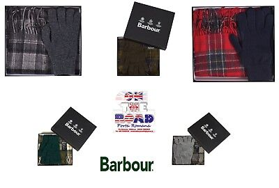 Discount 10% Barbour Gift Box Scarf Gloves Wool Scarf And Gloves Gift Box