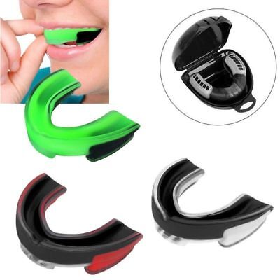 Adult Mouth Guard Silicone Teeth Protector Mouthguard Boxing Sport Karate
