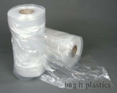 Clear Polythene Plastic Garment Covers Film Dry Cleaners Bags Clothes Bag Bags