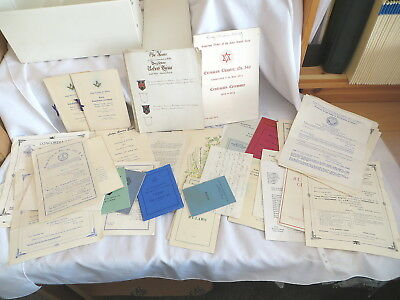 Selection Of Masonic Ephemera And Booklets - Different Lodges And Dates (34)