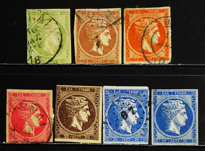 Greece: Classic Era Stamp Collection Large Hermes Heads