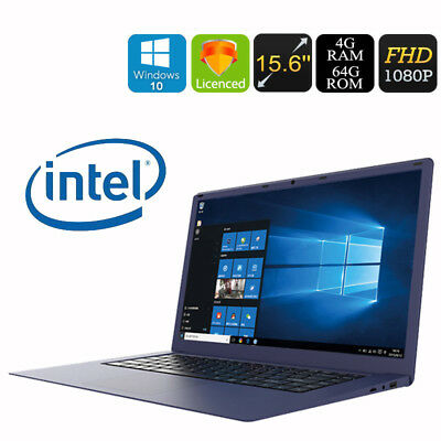 "15.6"" Laptop R8 Windows10 Notebook 1920*1080 Intel 4GB+64GB Ultrabook 10000mAh"