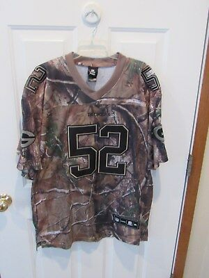 2XL CLAY MATTHEWS STITCHED Green Bay Packers Jersey Camo Print  hot sale