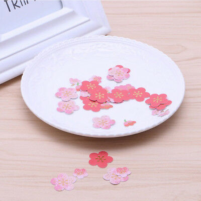 Pink Sakura Cherry Blossom Paper Hot Stamp Sticker DIY Photo Album Card Z