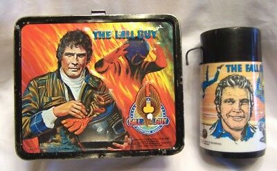 1981 Fall Guy & Lee Majors Aladdin Lunch Box & Thermos