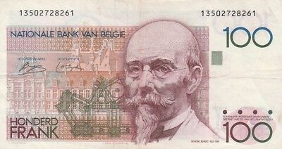 Belgien / P-140 / 100 Francs / *signatures on front only* / (1978)