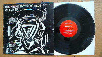 SUN RA - The Heliocentric Worlds Of Sun Ra, Vol. I (red ESP Label 1966 1st Press