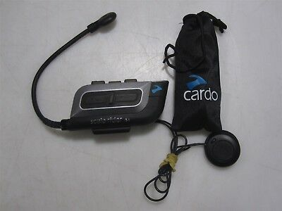 Cardo Scala Rider G4 Motorcycle Intercom Headset W/ Pouch/Cables