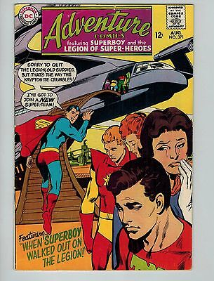 Adventure Comics #371 (Aug 1968, DC)! VG/FN5.0+! Silver age DC beauty! LOOK!