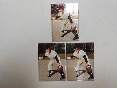 1994 Phil Rizzuto's Baseball promo card lot of 3! (Comic Images)! NM/MN! LOOK!