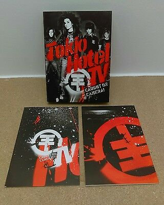 COFFRET DOUBLE DVD - TOKIO HOTEL TV - CAUGHT ON CAMERA // Achats Multiples