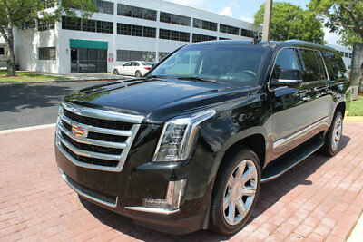 "2018 Cadillac Escalade ESCALADE ESV LUXURY NAV BACKUP CAM 22"" WHEELS!!!!! ONLY 16K MILES, 1 OWNER, CLEAN CARFAX, HEATED/VENTILATED SEATS, WOOD STEERING!!!"