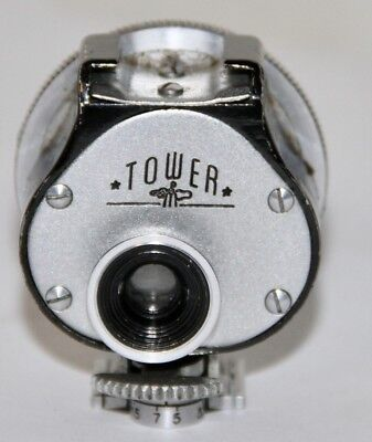 Tower Leica VIOOH Copy Lyre Sided Multi Viewfinder Marked In Feet