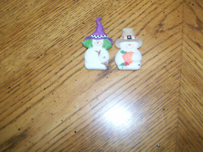 """Sarah's Attic Magnets - Two - """"witchy"""" & """"leif"""" - Fall Items - See Pics -"""