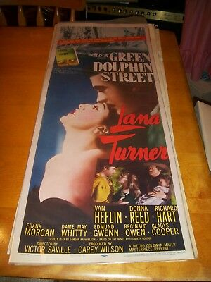 Green Dolphin Street Lobby Poster/card With Lana Turner Dated 1955