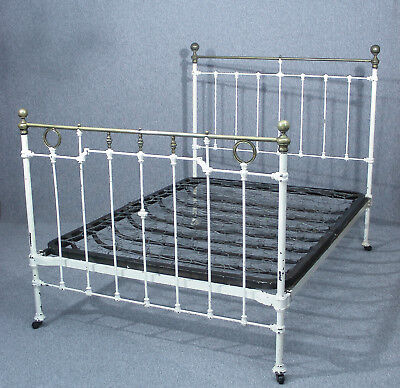 Beautiful Classic Victorian Brass & Iron Double Bed