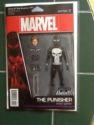 What If Peter Parker Became The PUNISHER Variant  Cover Marvel Comic
