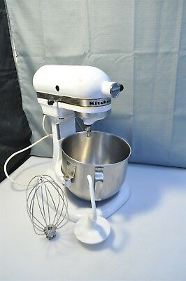 VINTAGE KITCHENAID K5SS by Hobart Stand Mixer w/ Attachments ...