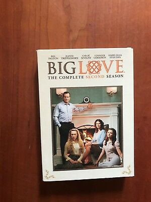 HBO ~ Big Love - The Complete Second Season ~ 4-Disc DVD Set