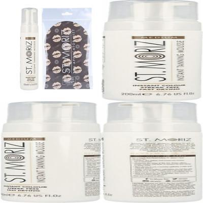St Moriz Selbstbräunungs-Mousse Medium 200ml inkl. 1 St. Moriz Applikator-Hands