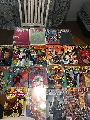 Mixed LOT OF 100 ALL Marvel DC Ind Comic Book #1 issues inside
