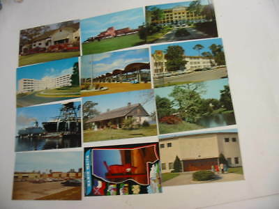 100 Mississippi Postcard Lot