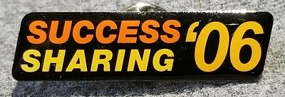 LMH PINBACK Pin 2006 SUCCESS SHARING Stockholder HOME DEPOT Employee Stockholder