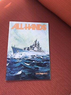 All Hands 1973 Magazine