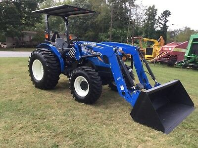 2017  New Holland Workmaster 50 4X4 Loader  Tractor 22  Hours