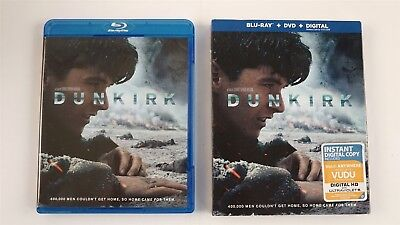 Dunkirk (3-Disc Set) Blu-ray Disc + DVD With Slip Cover - Code May Be Expired